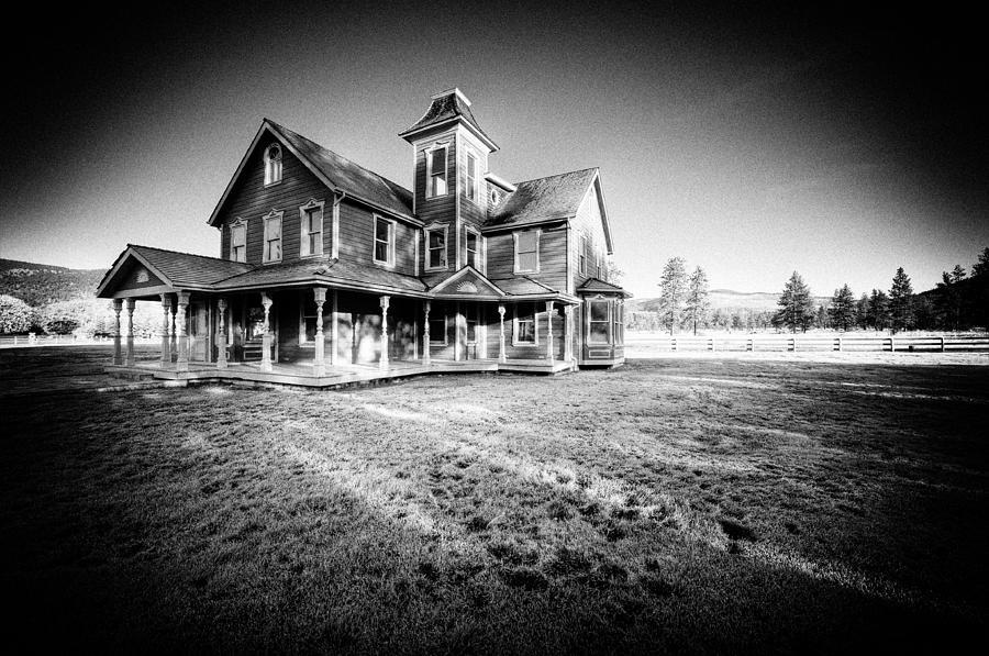 Haunted Photograph - Nicolas Haunted House IIb by Paul W Sharpe Aka Wizard of Wonders