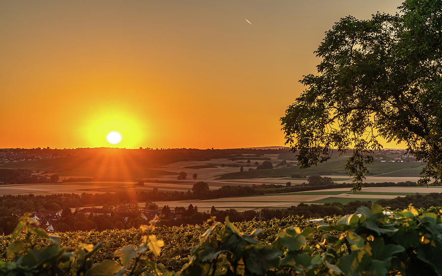 Germany Photograph - Nieder Olm Sunset by Framing Places