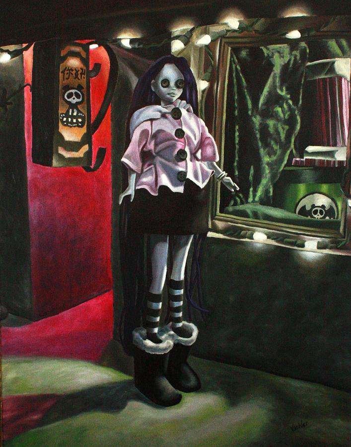 Dark Painting - Night 2 by Lori Keilwitz