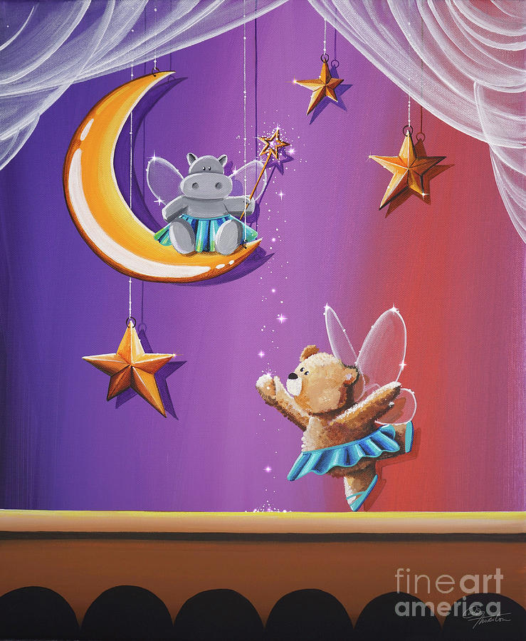 Night At The Ballet by Cindy Thornton