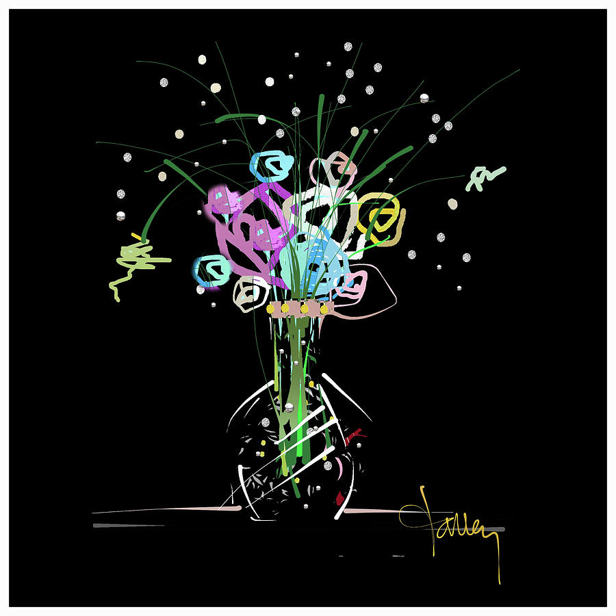 Night Bouquet by Larry Talley