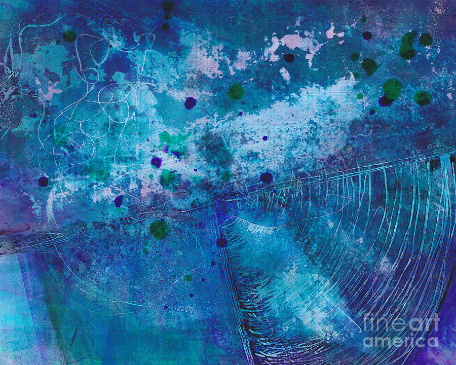 Painting Painting - Night Echo by Louise Lamirande