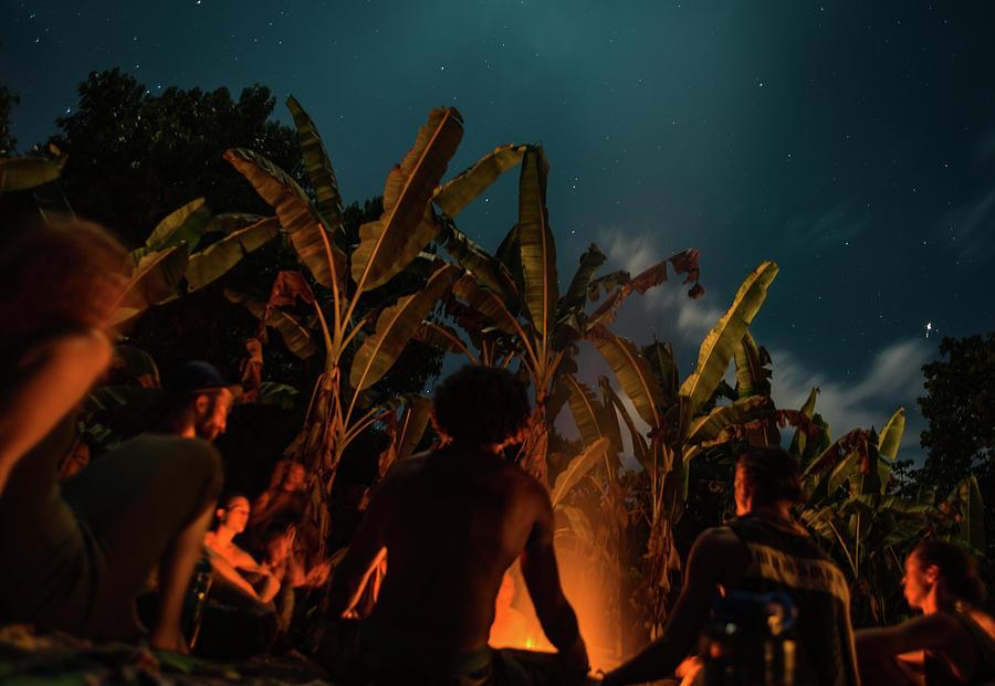 Night Fire Meditation by T Brian Jones