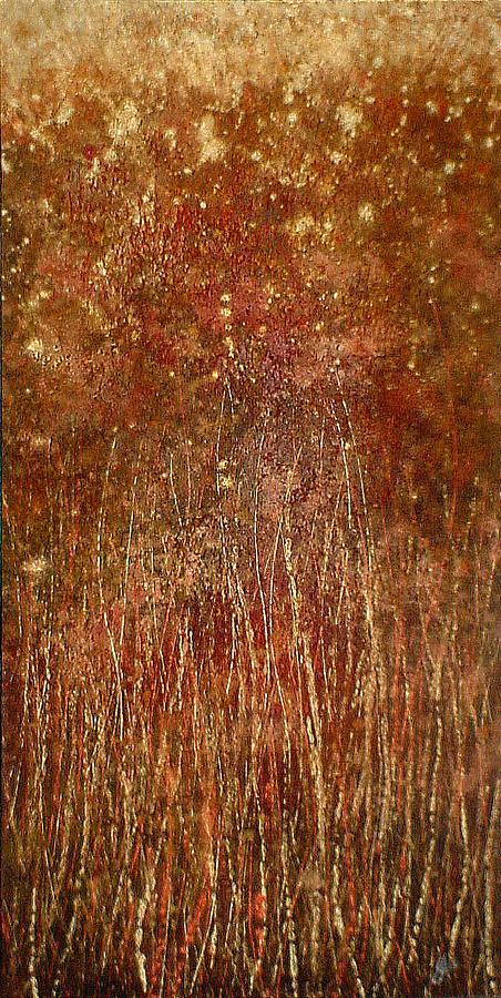 Evening Painting - Night Garden by Steve Ellis