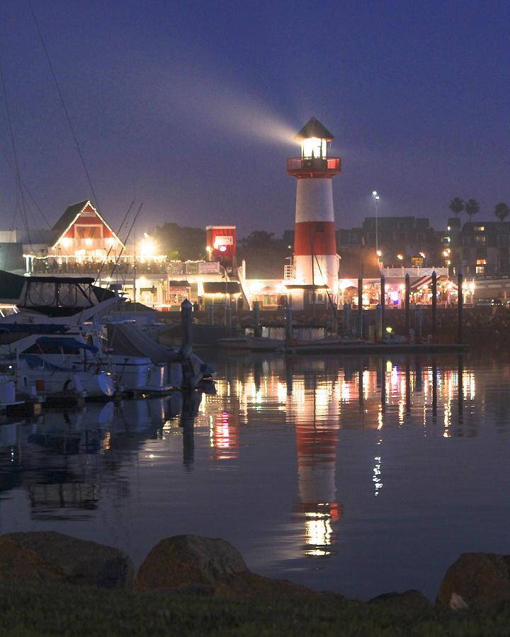 Night Harbor by Joy Buckels
