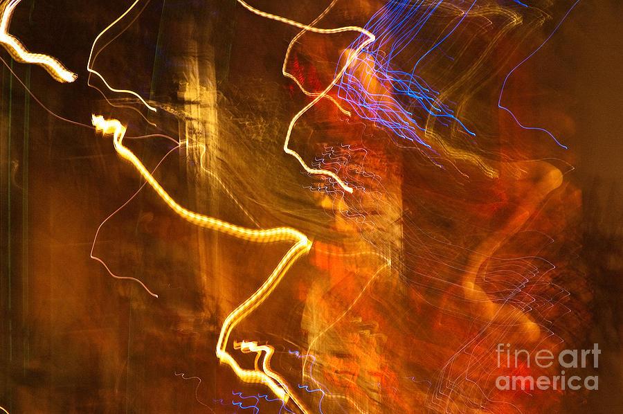 Night Light Photograph - Night Lights 3 by Layne Hardcastle