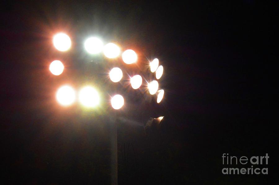 Lights Photograph - Night Lights by Dan Holm