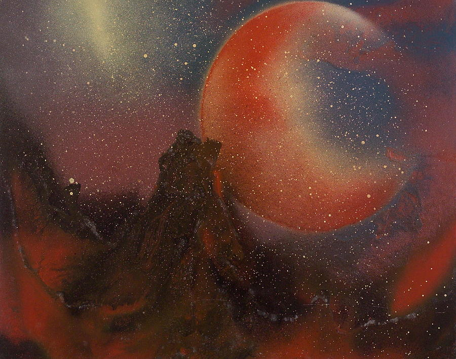 Night Masterl Painting by Robie Julian