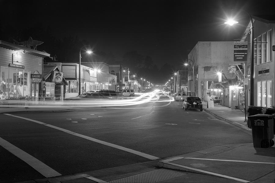 Bayfront Photograph - Night Moves by HW Kateley
