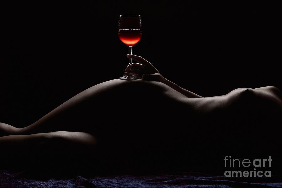 Nude Photograph - Night by David Naman