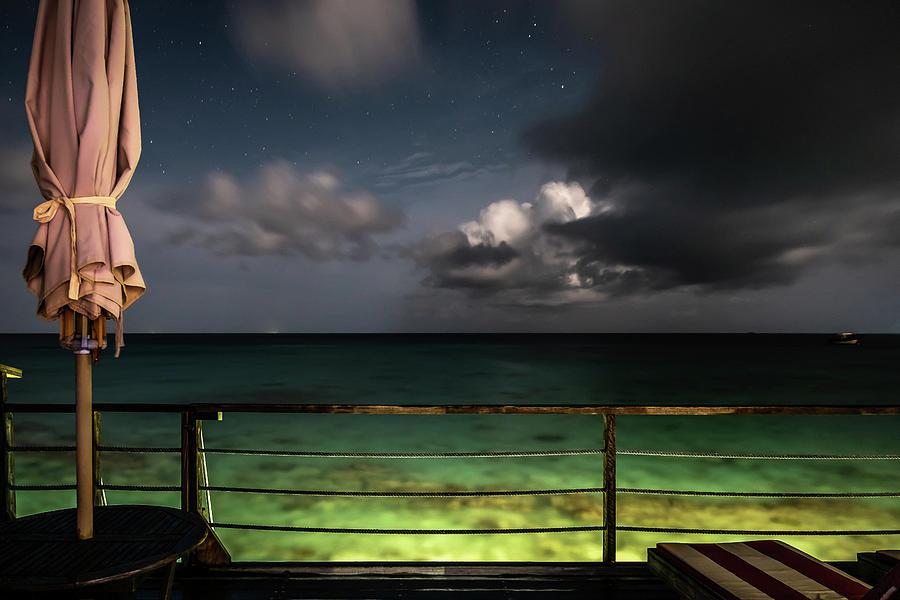 Night On The Ocean Maldives Seascape Photography Photograph By Giuseppe Milo