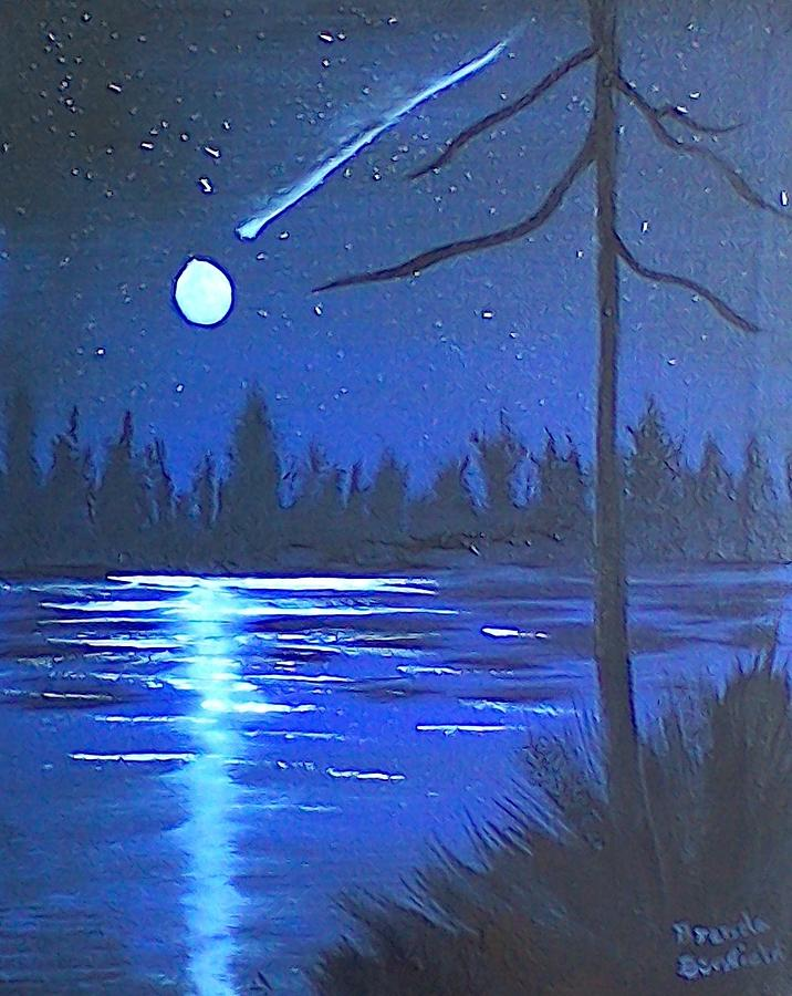 Night Scene by Brenda Bonfield