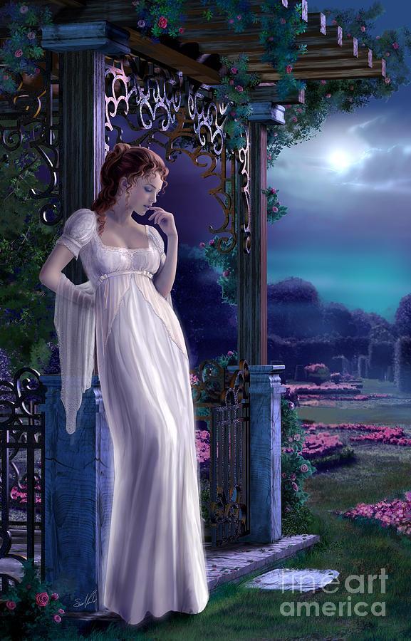 Night Painting - Night by Sonia Verdu