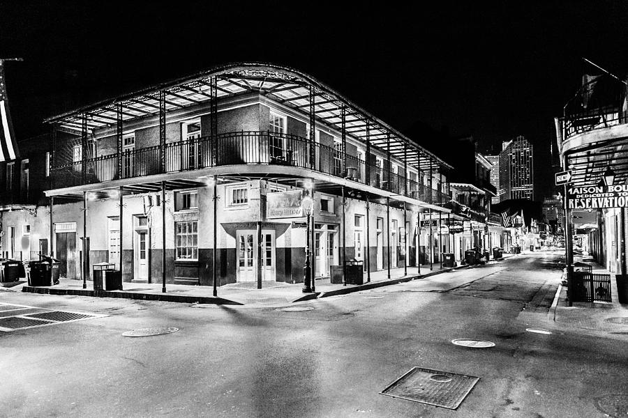 Nola Photograph - Night Time In The City Of New Orleans I by Tony Reddington