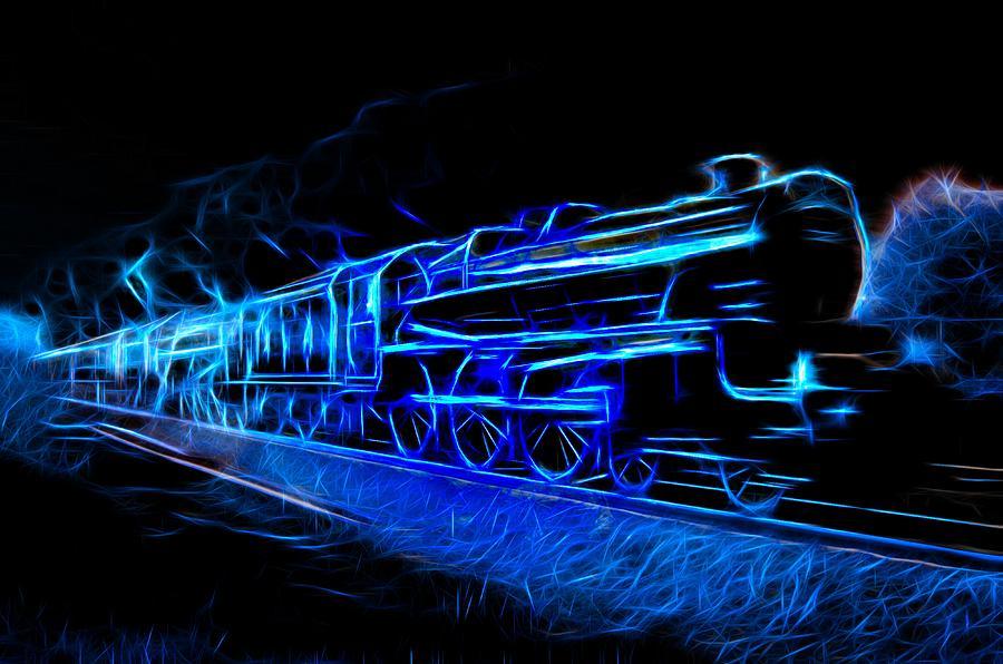 Night Train To Romance Photograph