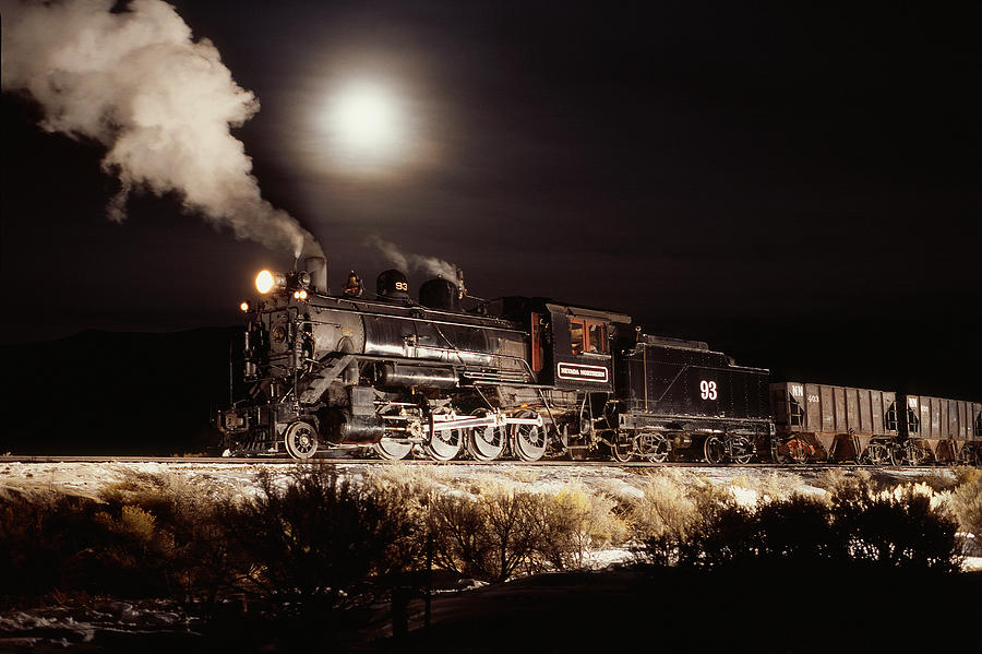night train photograph by werner rolli