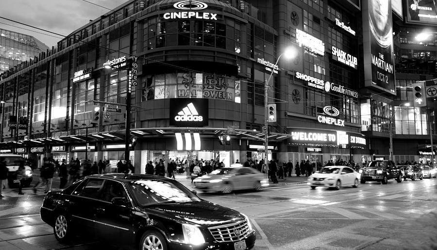 Nightlife In Toronto Photograph