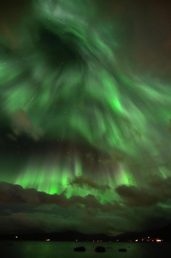 Vertical Photograph - Nightsky by John Hemmingsen