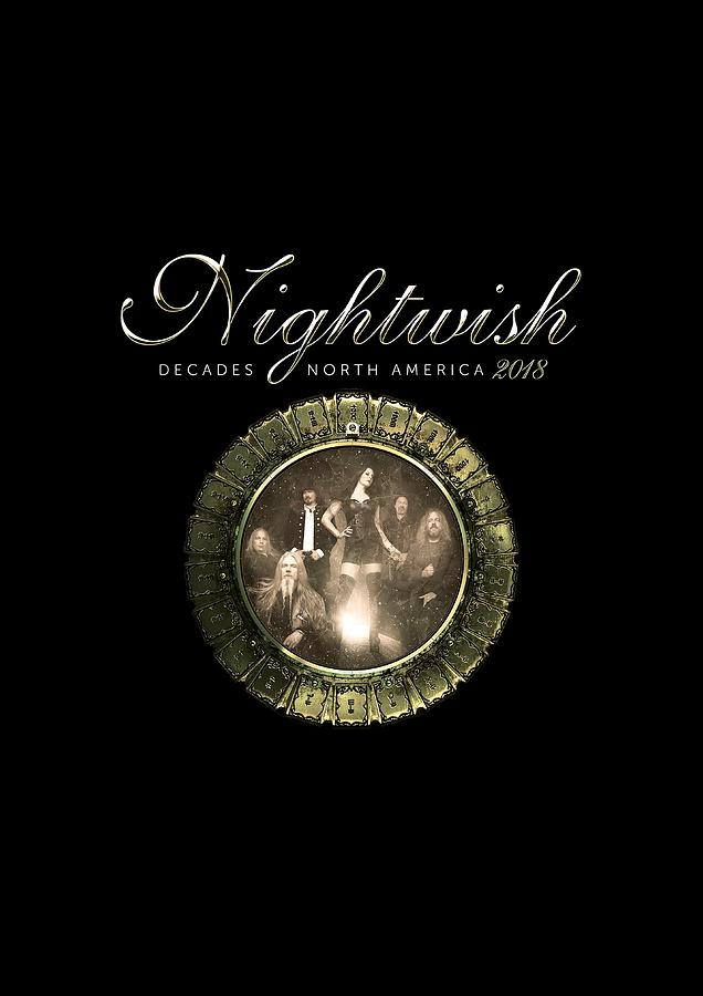Nightwish Decades North America Tour 2018