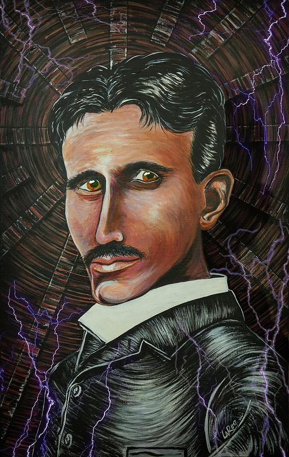 Nikola Tesla Painting - Nikola Tesla by Doug LaRue