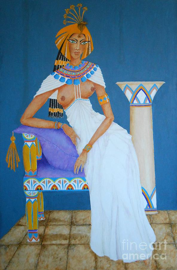 Nile Nymph -- Cleopatra, #1 in Famous Flirts Series by Jayne Somogy