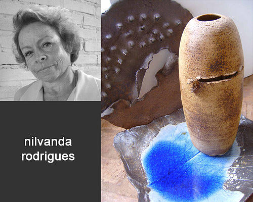 Torn Ceramic Art - Nilvanda by Cunha Ceramica