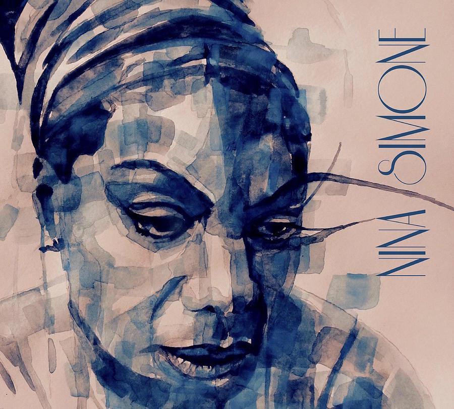 Nina Simone Painting - Nina Simone Art  by Paul Lovering