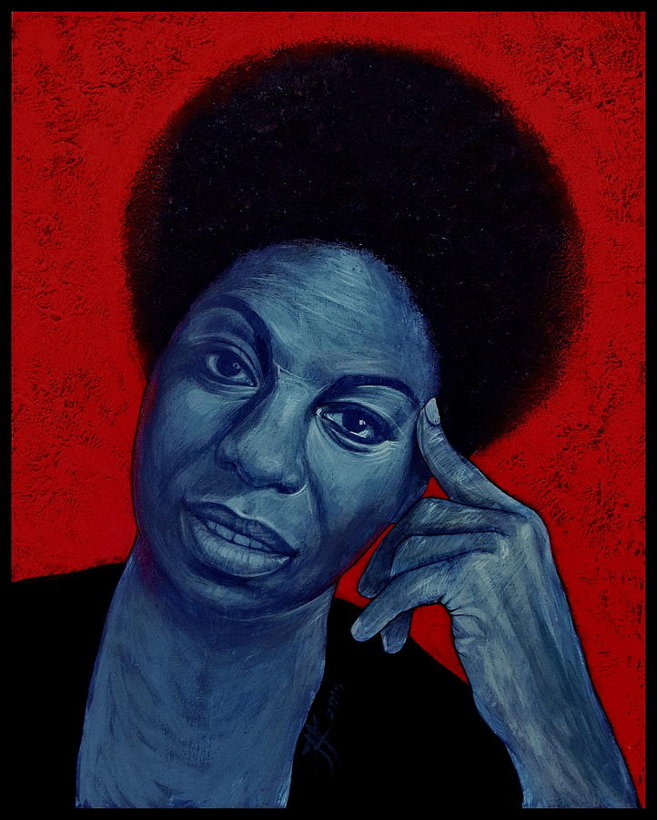 Nina Simone Painting - Nina Simone by Jovana Kolic