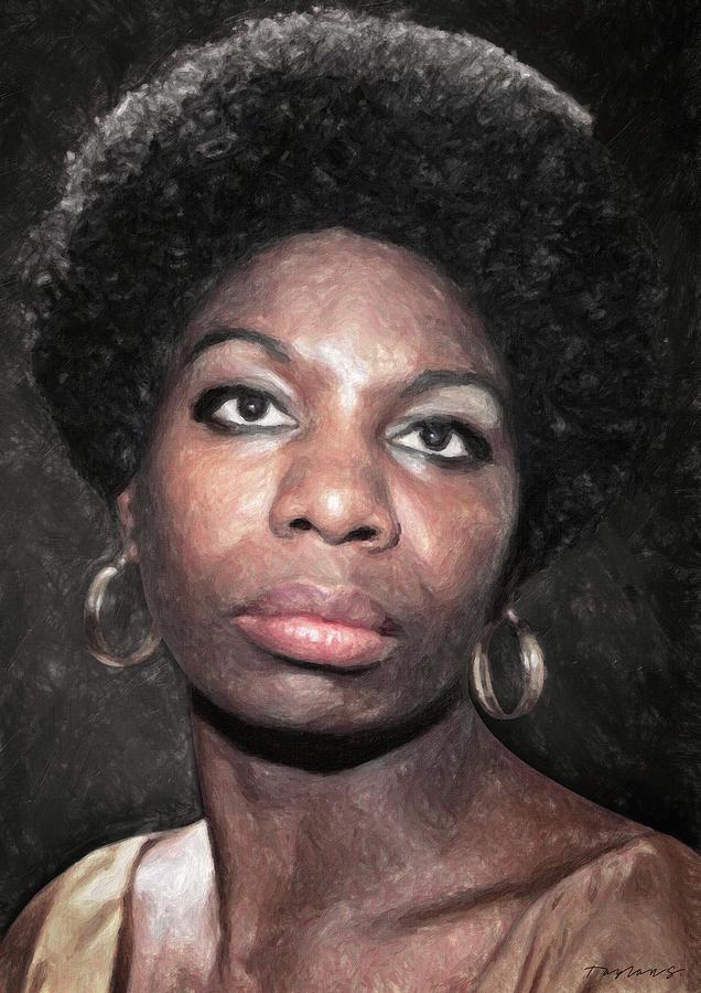 Nina Simone Painting