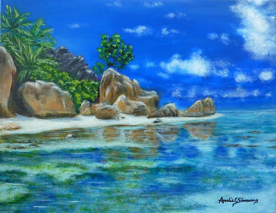 Nina's Beach by Amelie Simmons