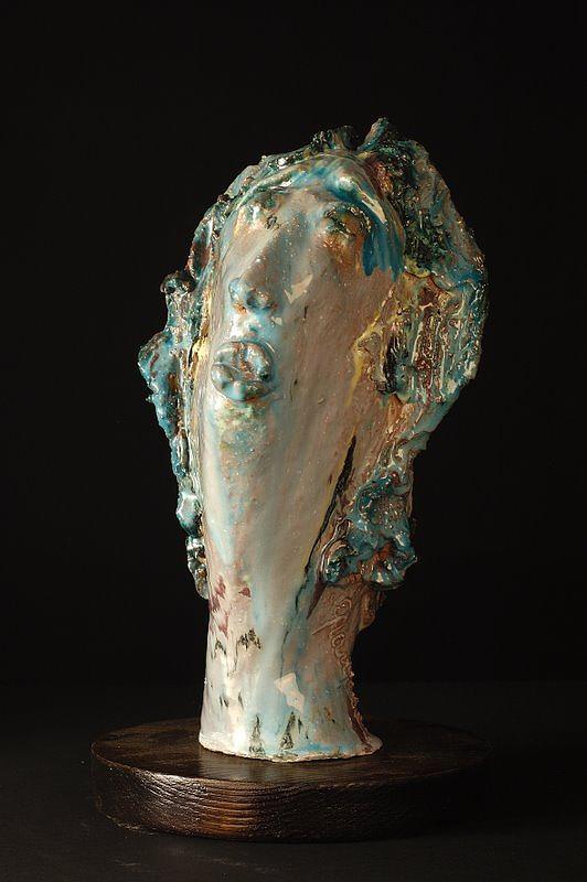 Ninfea Sculpture by Gian Genta