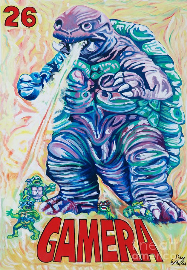 Ninjazilla by Ken Williams
