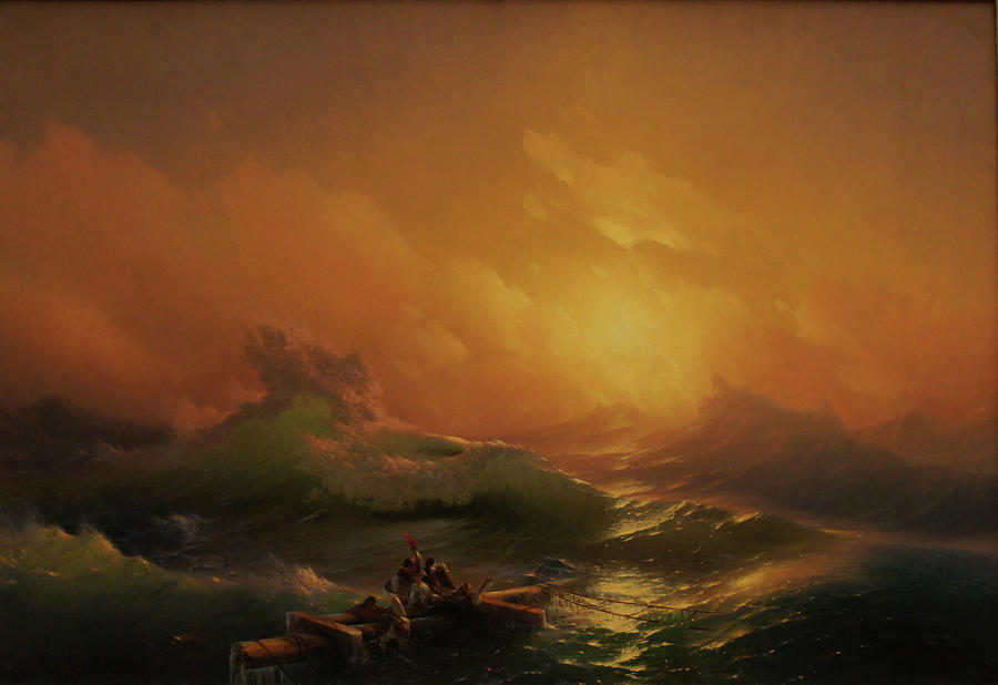 Marine Painting - Ninth Wave by Ivan Aivazovsky