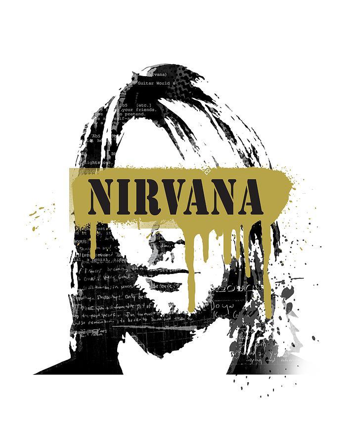 aa0f612e0 Nirvana Art Painting by Art Popop