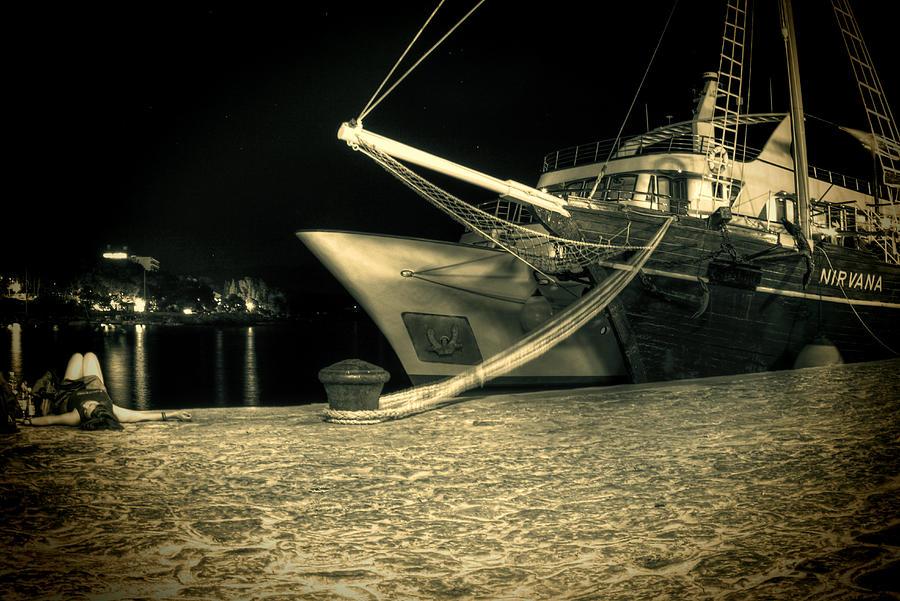Sailing Ship Photograph - Nirvana by Jasna Buncic