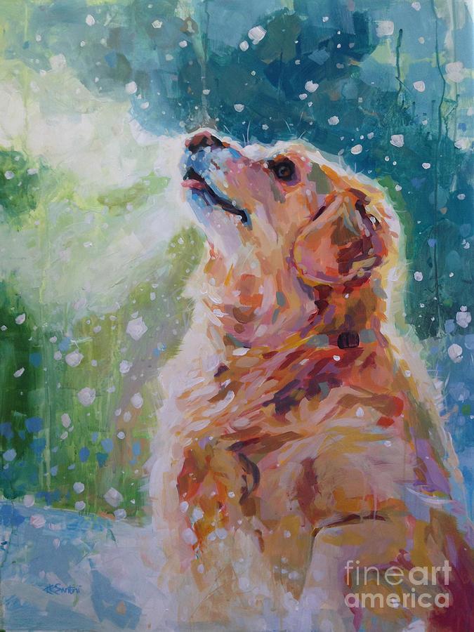 Golden Retriever  - Nitas Bliss by Kimberly Santini