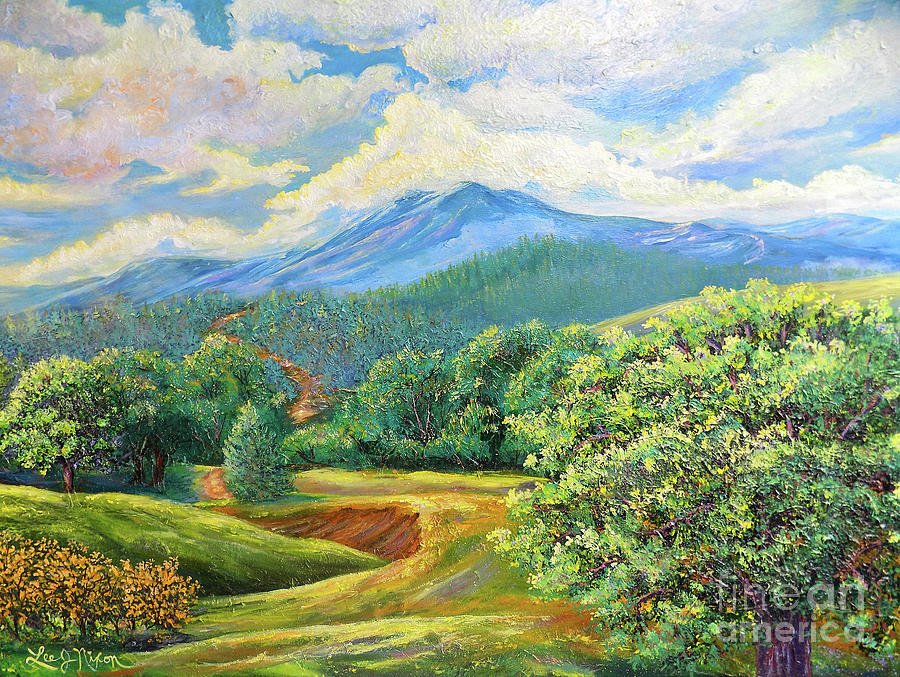 NIXON'S SPLENDID VIEW OF THE BLUE RIDGE by Lee Nixon