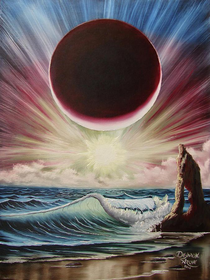 Original Painting - Njbda Starburst by Daymon Archie
