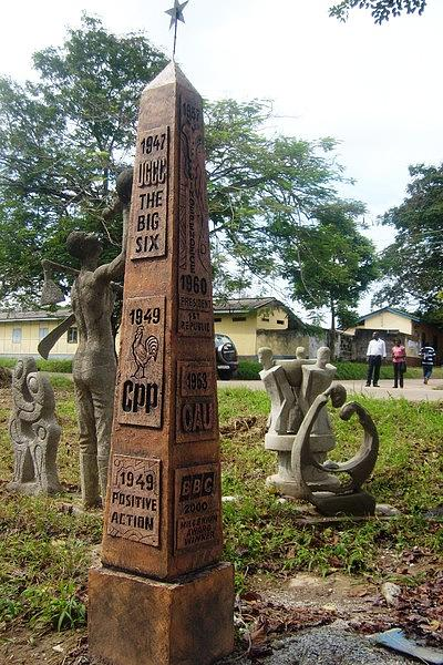 Monument Sculpture - Nkrumah Obelisk by Sylvester Banahene