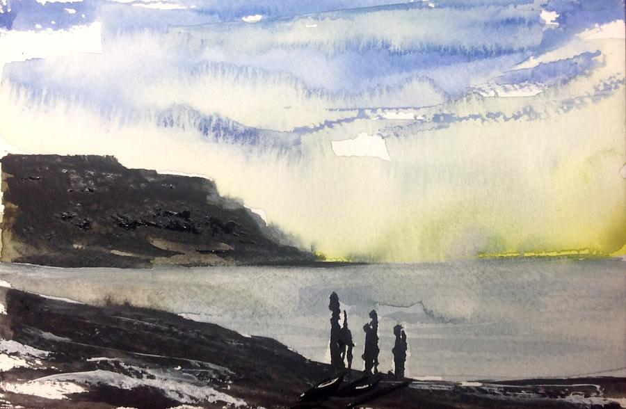 NL  Painting by Desmond Raymond