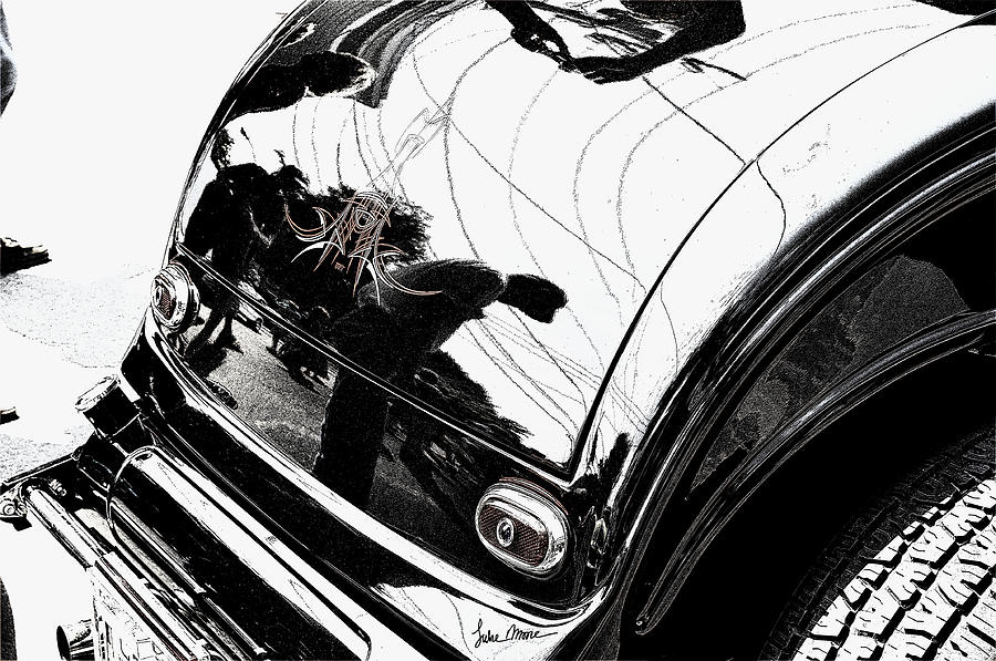 Hot Rod Photograph - No. 1 by Luke Moore