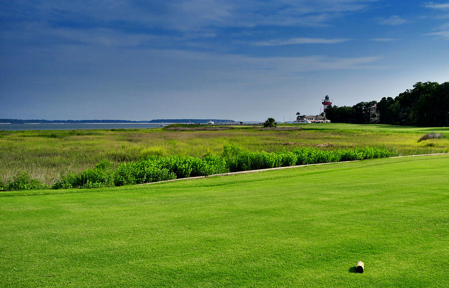 Golf Photograph - No. 18 At Harbour Town Golf Links by Lyle  Huisken