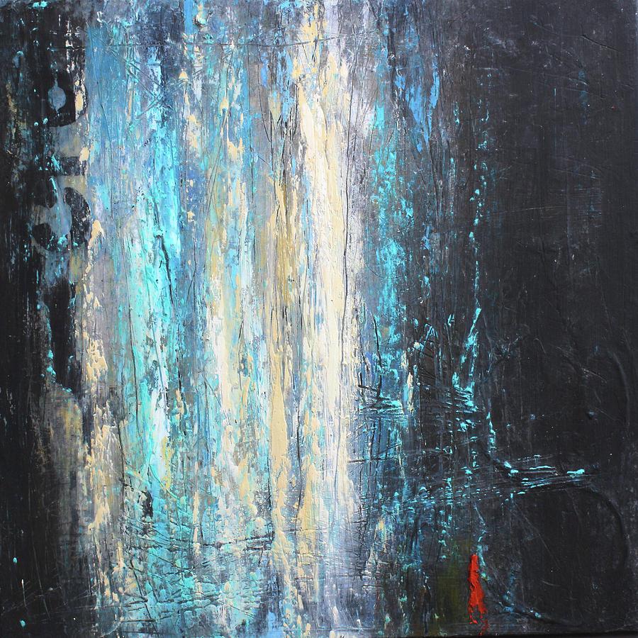 Blue Mixed Media - No. 851 by Patricia Lintner