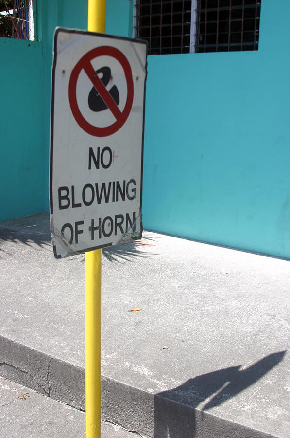 No Blowing Of Horn 2 Photograph by Jez C Self