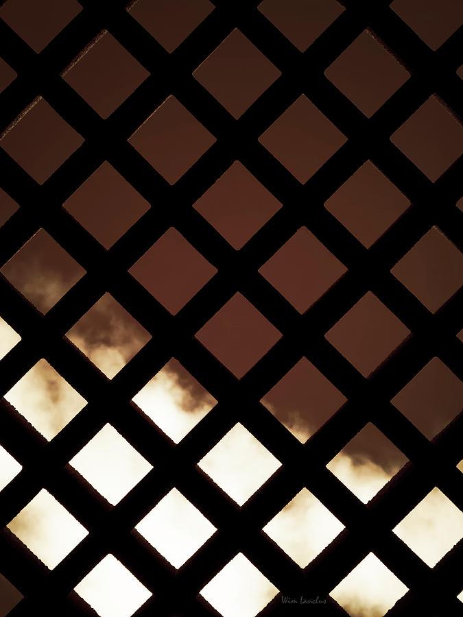 Fence Photograph - No Escape by Wim Lanclus