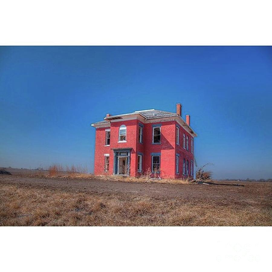Abandoned Photograph - No Longer Needed western Illinois by Larry Braun