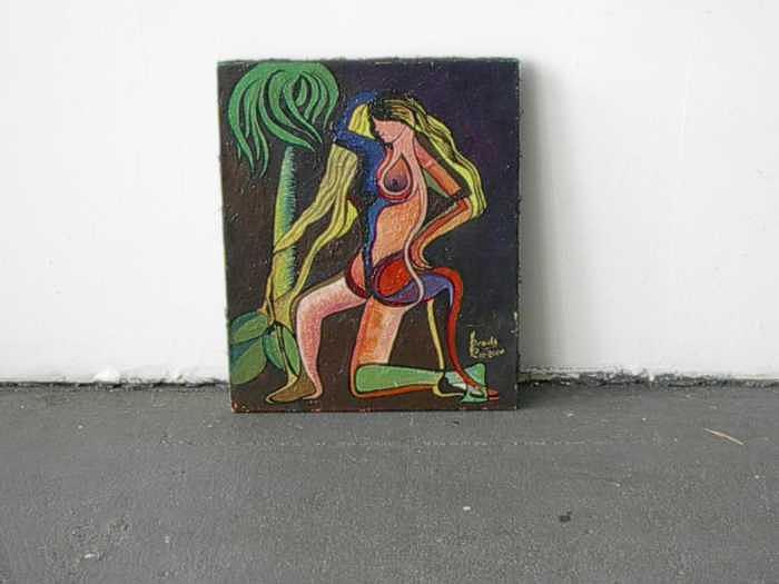 No Name  Painting by Carmelo  Prado
