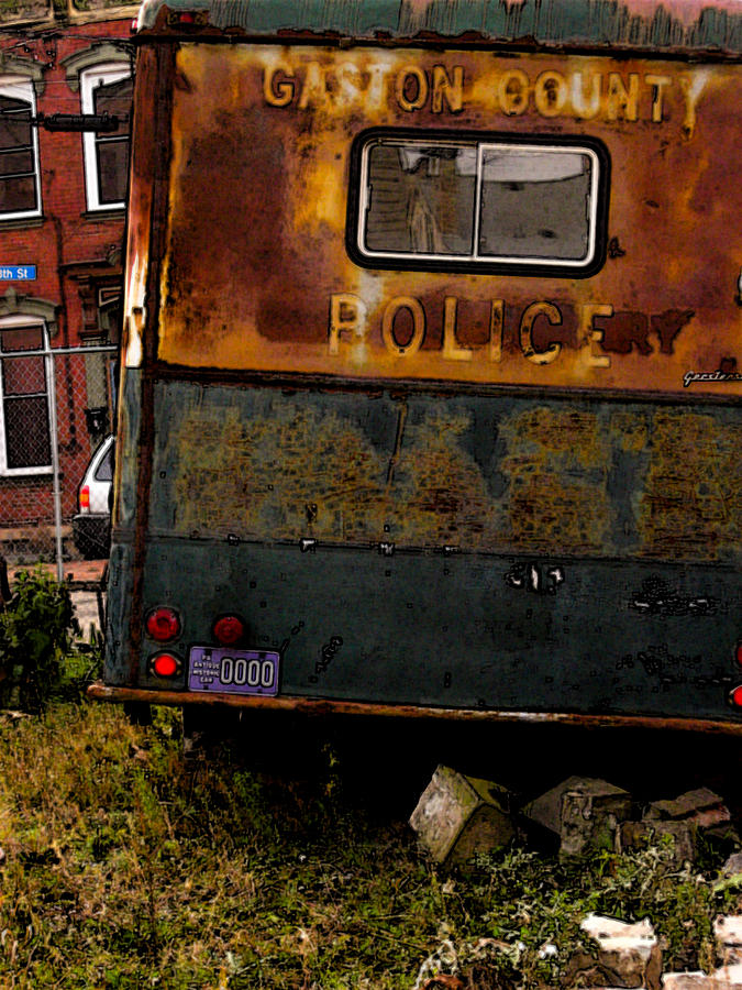 Paddy Wagon Photograph - No Need For The Black Maria by Jay Ressler