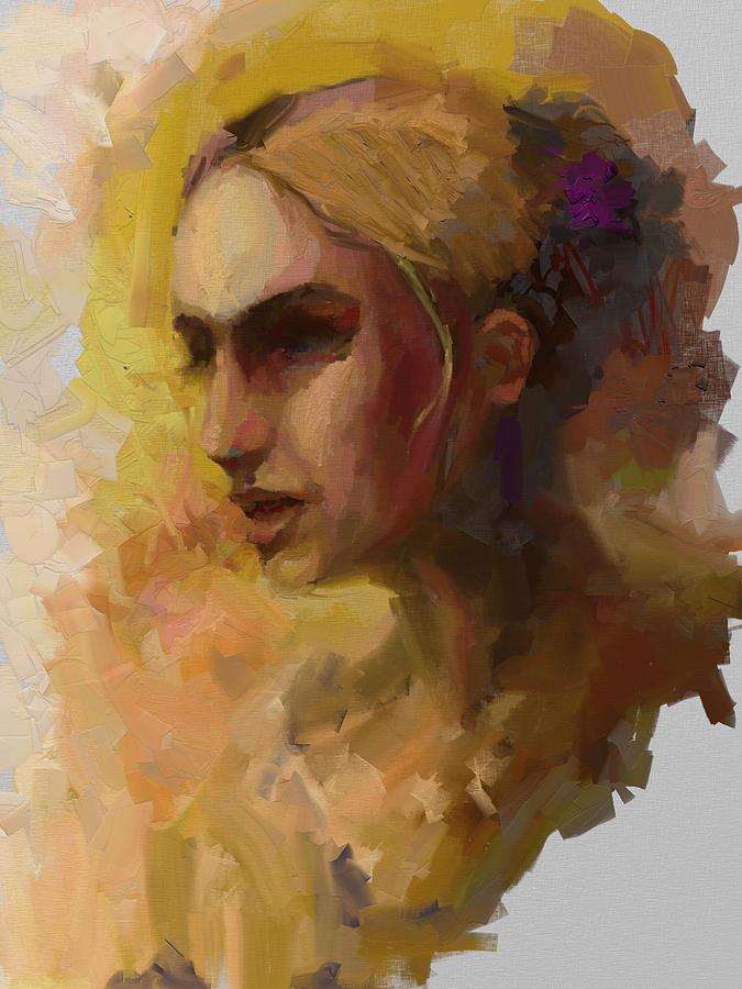 Woman Digital Art - No One by Brian Kardell