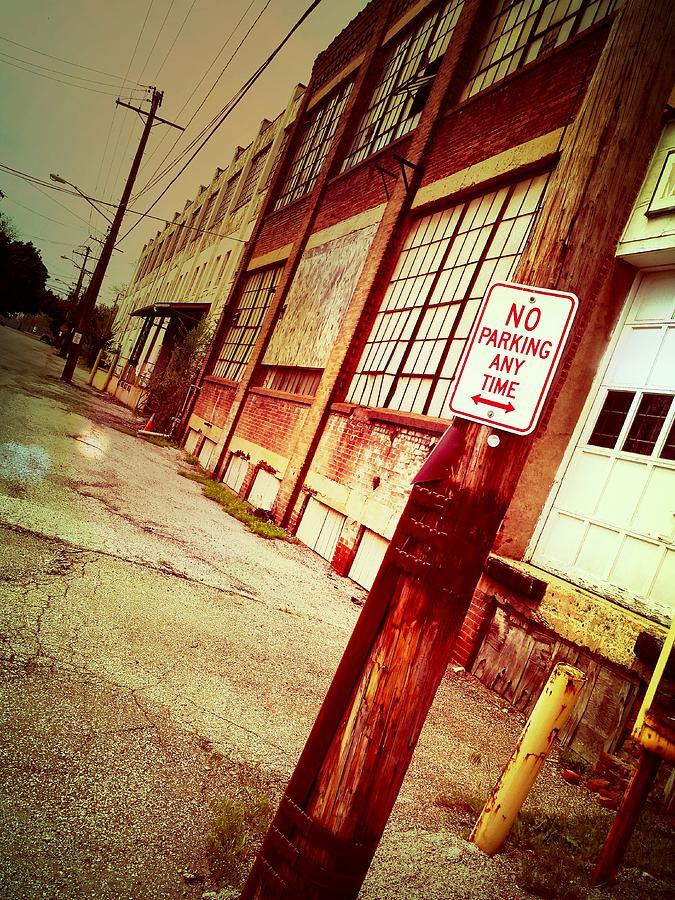 No Parking Photograph